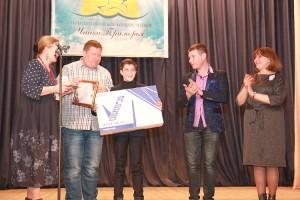 У Андрея Цыгуй Гран-при конкурса и главный приз - плазменный телевизор