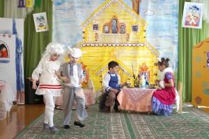Маленькие артисты перевоплотились в известных сказочных персонажей