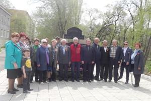 Митинг у памятника «Дети войны»