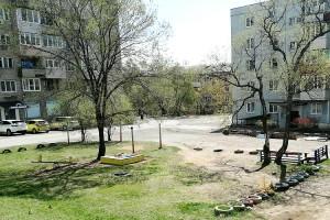 На Нагорной, 5 планируется установить спортивную площадку