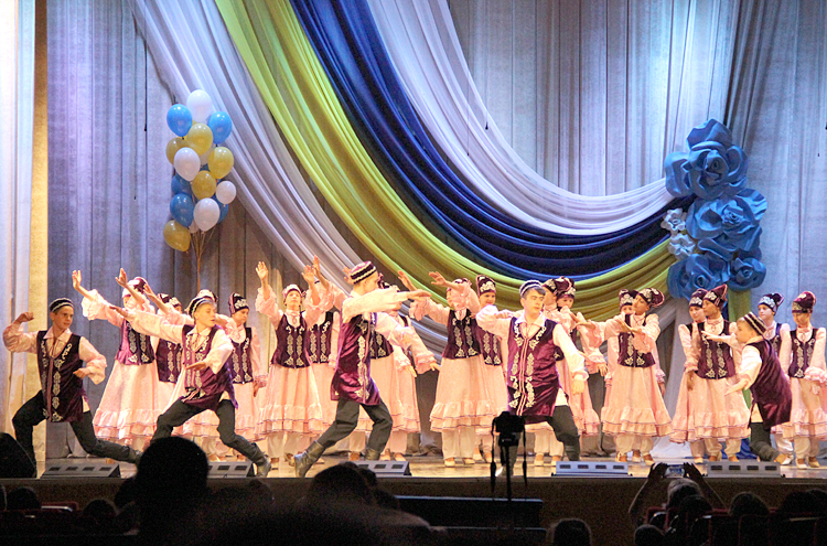 В танце важно все: постановка, музыка, костюм...