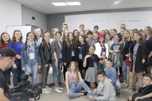Впервые в МедиаСаммите приняла участие делегация ЦДТ Партизанска