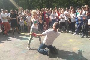 Танцевальный батл папы и дочки