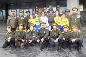 Северо-Сучанские казаки отмечали юбилей Уссурийского войска вместе со всеми казаками-дальневосточниками