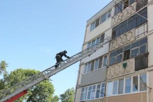 Пожар на улице Нагорной