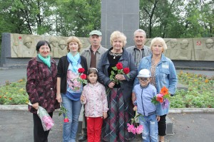 В Партизанске почтили память земляков, воевавших за освобождение Белоруссии