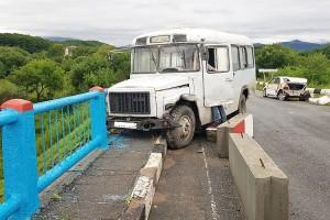 ДТП на подъезде к Партизанску