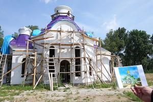Купола на новом Храме Сретения Господня могут быть установлены уже в 2019 году