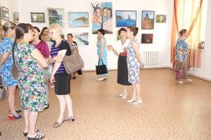 Выставка находкинцев по большей части посвящена приморской природе