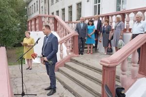Давно обсуждавшаяся идея установки мемориальной доски Иллариону Фомичу Палшкову воплотилась в жизнь