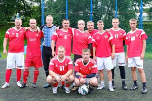 Участники первенства - команда «Стрела»