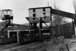 Погрузочный терминал шахты «Нагорная». 80-е годы XX века