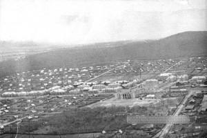 Панорама поселка Северный Сучан. 1963 год