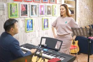 Артисты «Канона» репетируют мюзикл