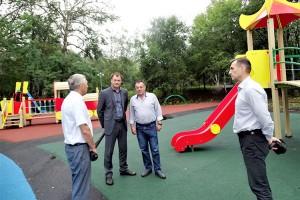 В пятницу, 13 сентября, - праздник на новой детской площадке