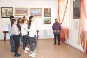 Новая выставка о Партизанске в живописи, литературе и музыке