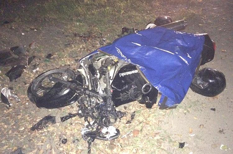 На Гоголевской погиб мотоциклист