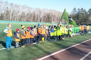 Самые юные футболисты Партизанска