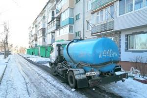 Во время устранения аварии население округа регулярно снабжали привозной питьевой водой
