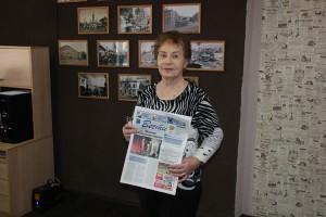 Нина Александровна Порунова на «Горизонте» работала со дня основания
