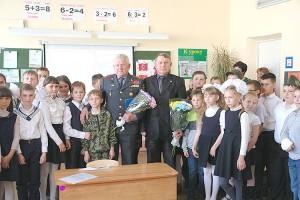 Ветераны МВД - частые гости на уроках мужества