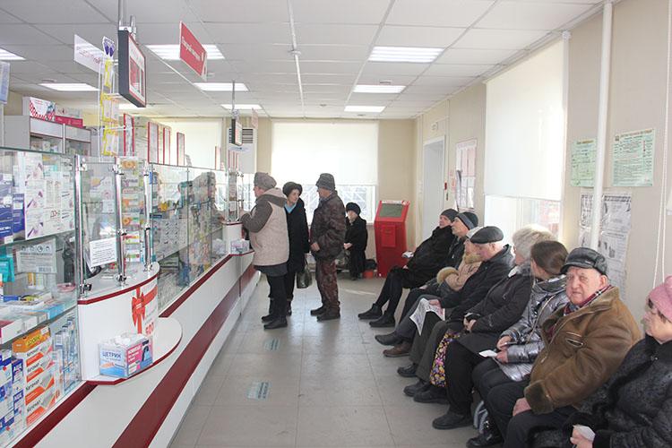 В аптеке «Миницен» - электронная очередь и все востребованные противовирусные препараты в наличии