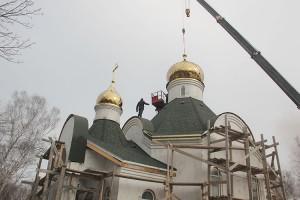 Уже этой осенью в новом Храме планируют провести первую службу