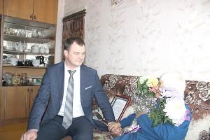 Мария Цой радовалась гостям и цветам