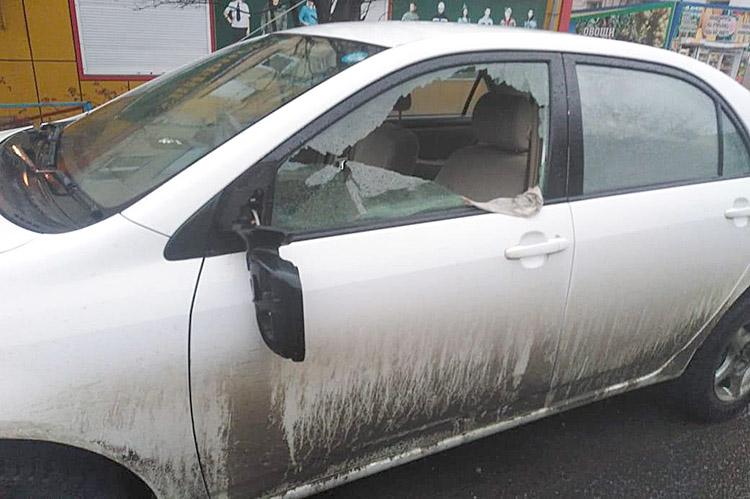 Последствия ДТП на улице Ленинской