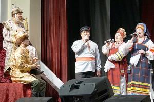 На сцене выступили лучшие творческие коллективы округа