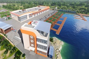 Проект масштабной реконструкции гребной базы в Лозовом