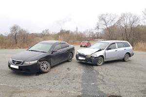 ДТП на въезде в Партизанск