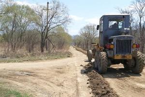 Грейдирование дорог контролируют специалисты администрации