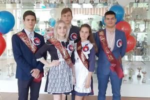 Медалисты школы №2