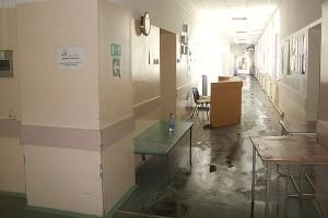Восстановительные работы в больнице начнутся в ближайшее время