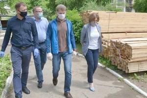 Ход ремонтных работ проверил губернатор Олег Кожемяко
