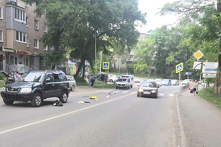 В аварии на улице Центральной погибла женщина