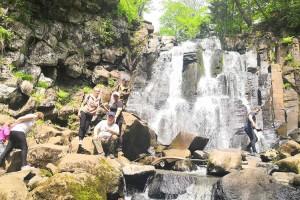 Один из самых посещаемых водопадов Приморья - Неожиданный