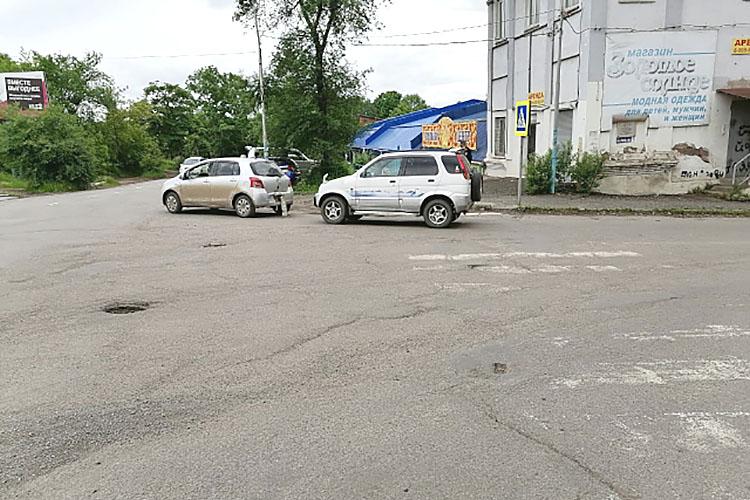ДТП на улице Кронида Кореннова
