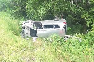 Водитель погиб на месте аварии