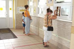 В детской поликлинике пока только «живая очередь»