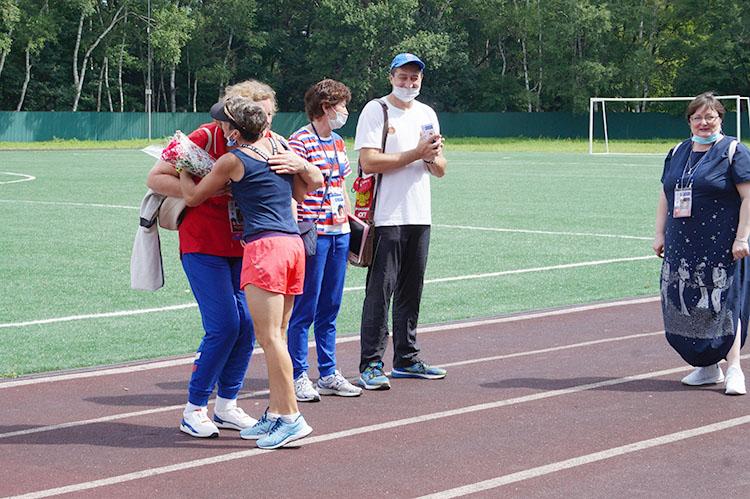 Тренеры были рады лично познакомиться со своими кумирами