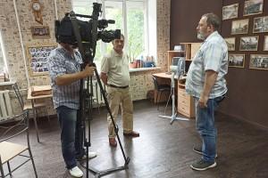 Журналисты «Вестей» рассказали коллегам об истории газеты и города