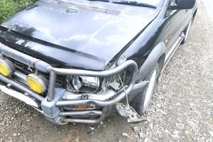 Причиной аварии стало оторвавшееся колесо