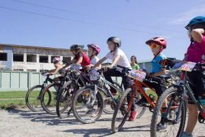 Юные велосипедисты Партизанска финишировали с медалями