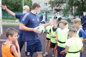 Партизанск - первый город школьной лиги регби