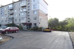 Так теперь выглядит территория вокруг дома №47 на 50 лет ВЛКСМ