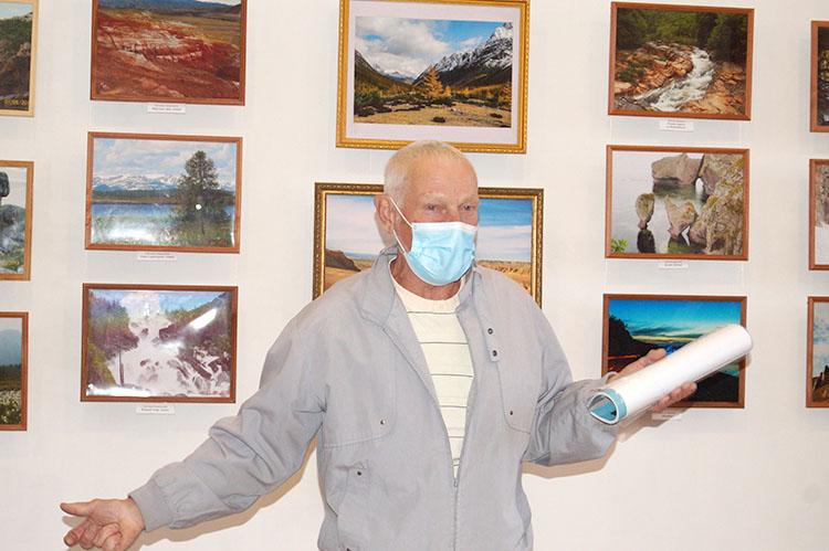 Турист и фотограф Виктор Данилов отметил 70-летний юбилей