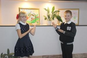 У брата и сестры, Саши и Любы, много общих увлечений, одно из них - рисование