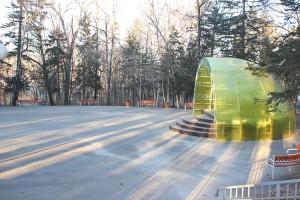 К новогодним праздникам парк превратится в сказочный лес
